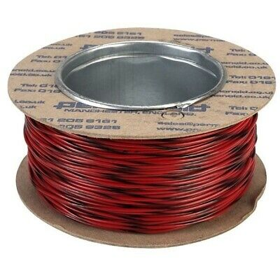 Rapid Equipment Wire 16/0.2mm Red/Black 100m