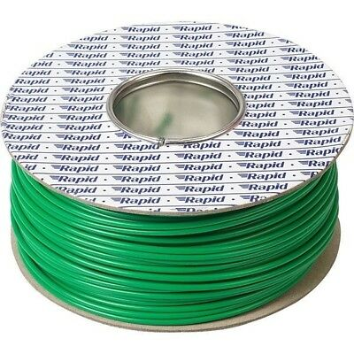 Rapid GW011215 Equipment Wire 32/0.2 Green 100m