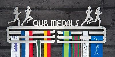 Medal Hanger Display Our Medals Triple Tier STAINLESS STEEL