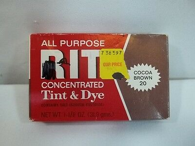 All Purpose Rit Concentrated Tint and Dye Cocoa Brown #20