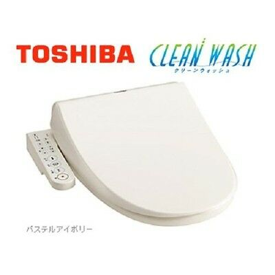 New TOSHIBA SCS-T160 Water Washing Bidet Toilet Warm Seat Pastel Ivory