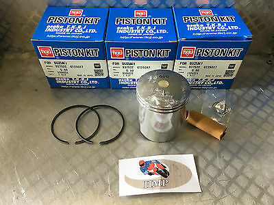 Suzuki Gt380 Standard Piston Kits X3 54Mm