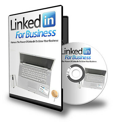 Linkedin for Business - Step-by-Step eCourse on CD! Plus FREE Bonus Video!