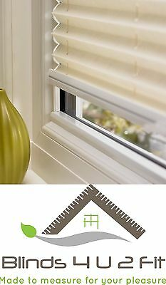 Pleated Blind~Door Blind~Window Blind~Made To Measure~Any Colour~50cm W X 100cm