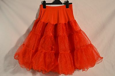 Red Petticoat Petti coat Rock and Roll Wedding underskirt