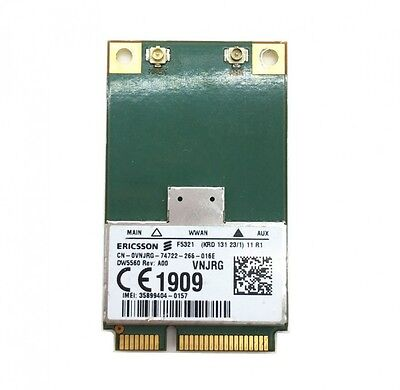 Dell Wireless WWAN DW5560 3G HSDPA Mobile Broadband Card VNJRG