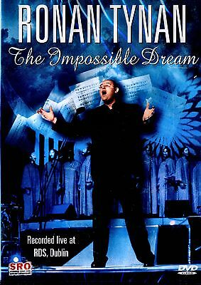 New Dvd - Ronan Tynan - The Impossible Dream -    Live At Rds ,  5.0 Audio