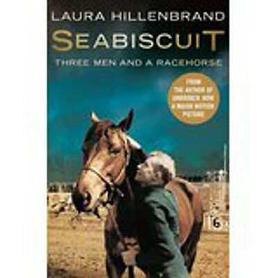 Seabiscuit: Three Men and a Racehorse, New, Hillenbrand, Laura Book