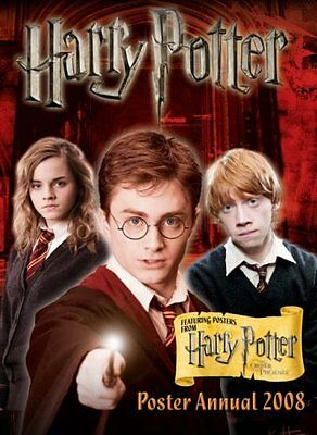 Harry Potter Poster Annual 2008 By Warner Bros