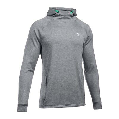 Under Armour Tech Terry Fitted Hoody Grau F025