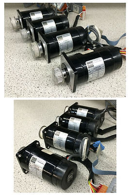 (4) Bodine 23T2FEHH DC Stepping Motor 5.1V 1.6A Lot of 4