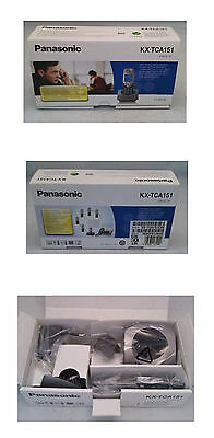 (5) Panasonic KX-TCA-151EXM Additional Handset Telephone
