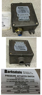 Barksdale B2T-H32SS-CS Pressure Actuated Switch