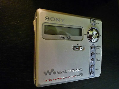 Sony Net MD MZ-N707 Personal MiniDisc Player