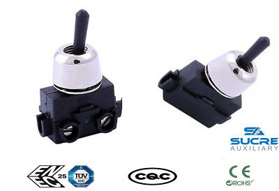 2A 250VAC 2 Pins ON-OFF Toggle Switch Waterproof Car Dashboard Boat Motorcycle