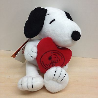 Hallmark Valentine's Snoopy Dog Plush Happiness Is Original Tag Attached