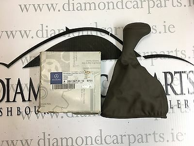 Brand New Genuine Mercedes W201 Handle Gearstick Leather Cover A2012672110