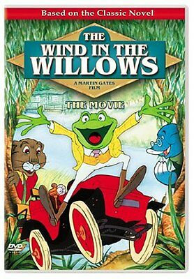 NEW CHILDREN DVD //The Wind in the Willows THE MOVIE - ! Animated Family Classic