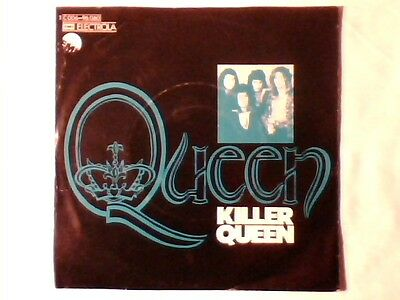 "QUEEN Killer queen 7"" GERMANY WHITE / BLACK REAR COVER COME NUOVO LIKE NEW!!!"