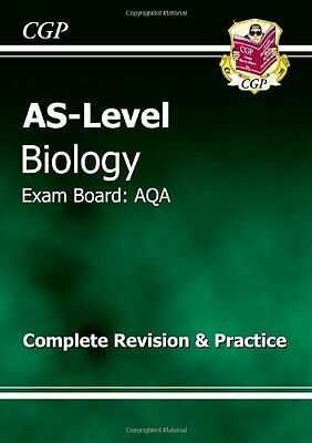 AS-Level Biology AQA Complete Revision & Practice (Revision Guide) By CGP Books