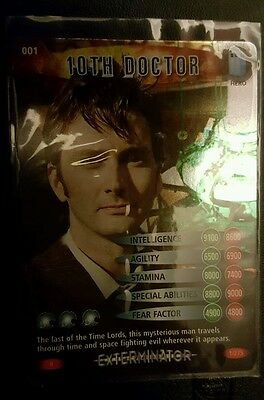 Dr Who Battles in Time Cards