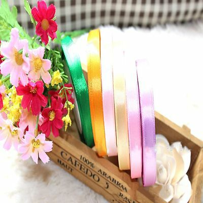 Party Wrapping Yards Single 5/8'' Sewing Satin Wedding Handicraft Ribbon