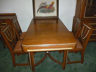 DECO  antique dining room set from 1950's very good