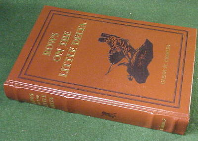 DELUXE Leather Bound Numbered BOWS on the LITTLE DELTA  ARCHERY BOOK St. Charles