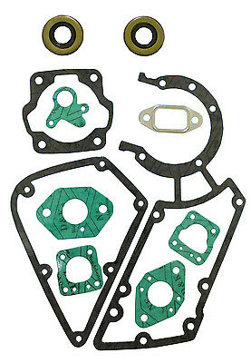 CRANKCASE GASKET SET FIT STIHL TS350 TS360 DISC CUTTER CUT OFF SAW 08S CHAINSAW