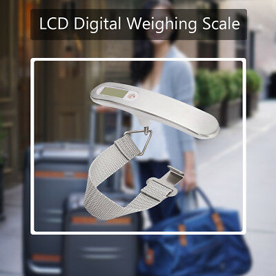 50kg Digital Travel Weighing Scale Electronic Handheld for Luggage Bag Suitcase