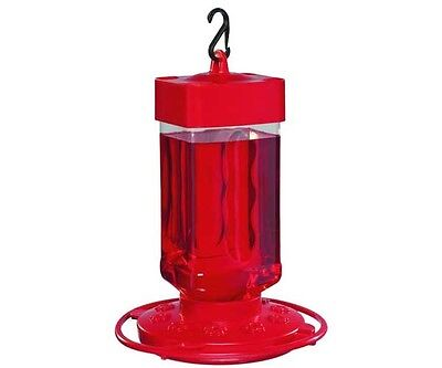 First Nature 32 oz Large Hummingbird Feeder 3055 Wide Opening for Easy Cleaning