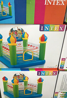 Large Intex Castle Bouncer Jump Bouncy Castle - Fun - Party - Garden Toy Gift