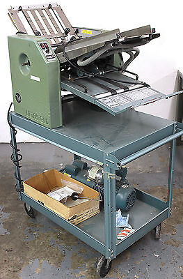 Baum 714B Ultrafolder with Air Feed on Mobile Station