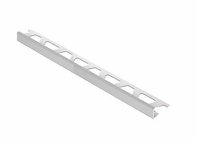 "Schluter JOLLY Edging Profile For 1/4"" Tile 8' 2-1/2"" Length 10 Pcs pack Grey"