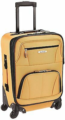 Rockland PASADENA 19 EXPANDABLE SPINNER CARRY ON- F2281-ORANGE ...