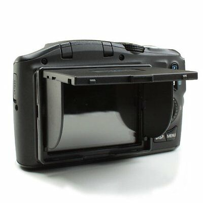 3 Inch LCD Hood Screen Sun Shield with Pop-Up Shade Case and Screen Protector by