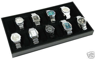 18 Watch Travel Case Jewelry Display Wristwatch New