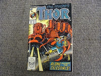 "Thor #388 (1988) ""Alone Against the Celestials!"" * Marvel Comics *"