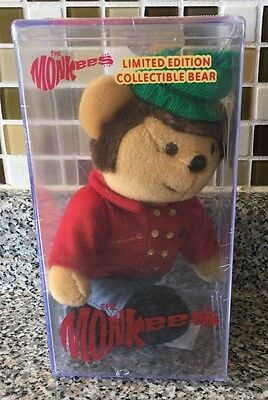 The Monkees Limited Edition Collectible Bear Keeper 1,266 of 10,000 Mike Nesmith