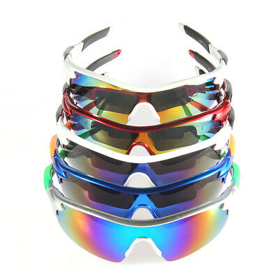 Cycling Sun Glasses Outdoor Sport Bicycle Bike Riding Eyewear Goggle UV400 Len~