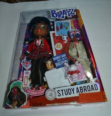 2015 Bratz Study Abroad United Kingdom Sasha - Bunny Boo Goes To Britain