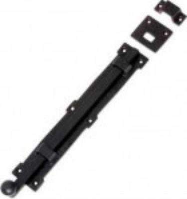 black powder coated, tower or panic bolt.300 mm TH 1901