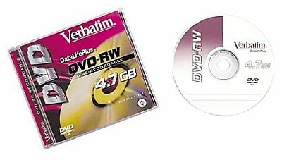 1-pack DVD-RW 4.7GB Branded with jewel Case