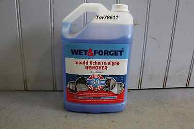Wet And Forget 5 L Mould, Algae And Lichen Removal  Makes 30L New