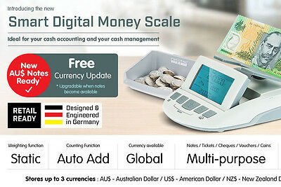 Money Counter Note Currency Cash Machine Business Portable Counting Global Count