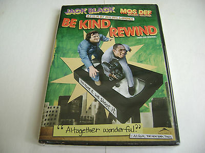 Be Kind Rewind (Jack Black) - DVD - Bilingual / Brand New Factory Sealed