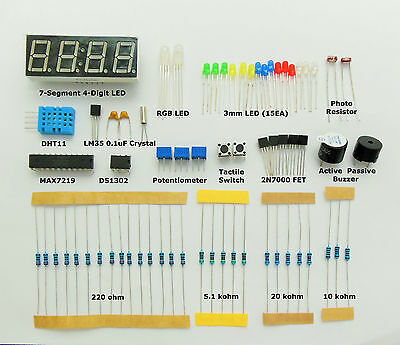 Arduino UNO NANO Starter Basic Kit Clock Counter LM35 DHT11 ...  CANADA shipping