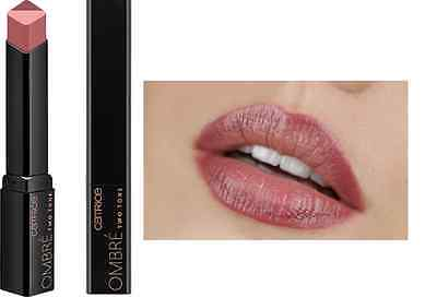 "CATRICE LE ""It Pieces"" Ombré Two Tone Lipstick (020 Nude York City Style) OVP"