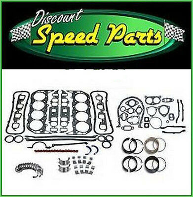Enginetech Engine Rebuild Re-Rering Re-Main Kit for 65 66 67 68 Ford 289 4.7L V8