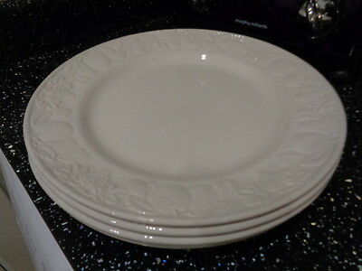 Bhs Lincoln Dinner Plates X 4